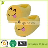Creative Emoji Expression Winter Soft Bedroom Slippers