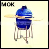 Outdoor ceramic bbq grills with outdoor smoker barbeque