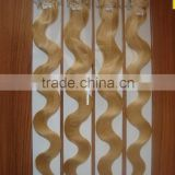 Any style and color can be choosed Malaysian 100% remy micro ring human hair extension