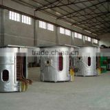 Aluminium scrap induction melting furnace