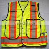high visibility reflective vest safety vest ANSI reflective clothing