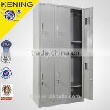 kening2016 Factory direct sale steel locker with cloth hanger and shelf for commercial or residential