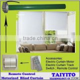 Taiyito blind cutain system Remote control electric window shades motorized window shades