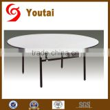 light weight round folding banquet cocktail table