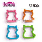 Beauty design high quality cat cookie cutter/plastic cookie cutters round/moon shape cookie cutter
