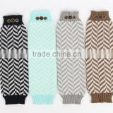 2015 kids crochet chevron leg warmers pretty leg warmers for children fashion girl chevron crochet leg warmers LW-37