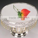 High quality cake stand with crystal drops for wedding&home &party&event occation(MY6258)