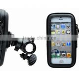 New hostselling 360degrees rotating weather resistant bike mount for all smart phone stand