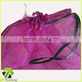 High quanlity Leno net bag for Vegetable and fruit packing