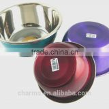 2016 Chuangsheng colourful Stainless steel water bowl soup container&Charms large soup pot stainless steel cooking casserole