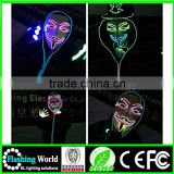 China factory OEM high quality china wholesale Washable luminous flashing ghost rider party mask