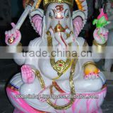 Marble Ganesh Statue Handcrafted Lord Ganesh Idol