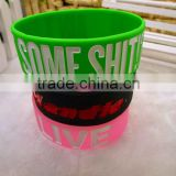 High Quality Wholesale Silicone Power Energy Bracelet Promotional Items for World Cup 2014