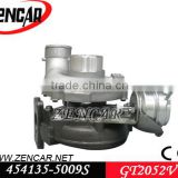 k18 material 12 month warranty garrett turbocharger 2052v turbo for Passat 454135-5009S