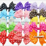 Factory direct supply hair bows made ribbon