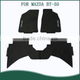 for Mazda BT-50 Double Cabin Pickup Truck Floor Mats - Floor Liners - 2006-2010 - Four (4) Piece Set
