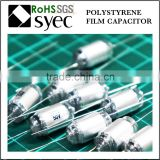 Factory Brand Axial Lead 47pF 50V Polystyrene Film Capacitor