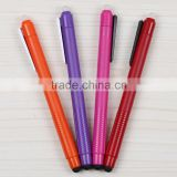 promotional stationery cheap plastic erasable gel ink refill ball point pen for students or office use TC-9006