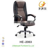 Office Executive/Manager Leather Chair PU Lift And Tilt Mechanism HE-2063