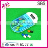 Portable Intelligent Reminding Electronic Pill Box With Timer