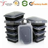 Wholesale High grade disposable plastic lunch bento box                                                                         Quality Choice