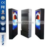 70 Inch Outdoor Display Lcd Monitor High Bright Sun Readable Advertising Kiosk Lcd Advertising Display
