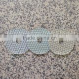 3 Step Polishing Pad 4 inch (100 mm) Granite Marble Artificial Stone Polishing Wheel Abrasive Pad Wet or Dry