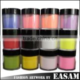 hot 10g 12ml nail art carving powder,color acrylic nail powder,glitter acrylic nail powder