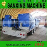 Sanxing K Q span hydraulic system forming machine/roofing sheet bending machine for steel buildings