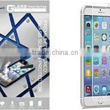 Smartphone Tempered Glass Screen Protector for Apple Iphone 6 Cell Phone Life Time Warranty Screen Guard Film