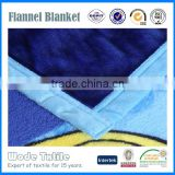 Hot Sell 2015 Promotional Best Price Coral Fleece Blanket with LOGO Printing In China