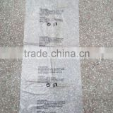 Clear Printed HDPE (PO) Liner Flat Poly Bag With Warning Printing                                                                         Quality Choice