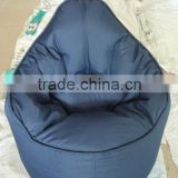 hot item sofa style soft and comfortable Easy bean bag chair filed with EPS bead (NW918)