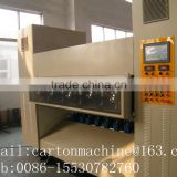 good quality Carton box Making/corrugated cardboard thin blade knife slitter scorer creasing machine for India price