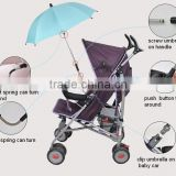 Baby stroller from xiamen umbrella factory for UV protection