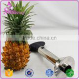 Top Quality Family Bar Cafe Silver Better Grips Stainless Steel Ratcheting Pineapple Corer Slicer Peeler