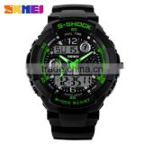 2016 Hot Selling SKMEI Double Movement Sport Watch LED Digital Waterproof S SHOCK Men Watches