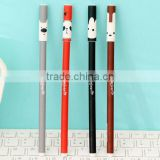 wholesale DIY creative stationery personalized Novelty multi-color changing ink gel pen cartoon animal printed ball point pen