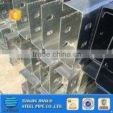 Galvanized C Shaped Q235 Equivalent Steel Channel With Punching