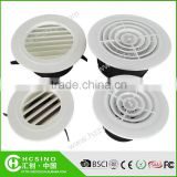 Wall Mounted ABS Round Adjustable Green Air Conditioning Vent Diffuser /Air Diffuser / Air Outlet