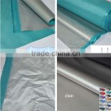 fabric sun shade for car blackout fabric with silver coating and pu sunscreen waterproof rainproof thin for car curtain umbrella