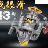 NEW Europe Most Popular DC 1000 - 7000 Smooth Spinning Reel Fishing Reel 13 BB Carp Fishing Reel Bait Runner Fishing Reel