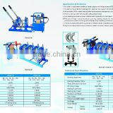 Hydraulic butt fusion hdpe pipe welding machine