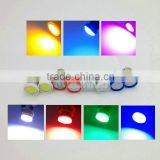 T11 BA9S T4W 3886X H6W 363 COB LED bulbs Car Styling Wedge Side Light Lamp Door Light Bulb 12V White/Red/Green/Yellow/Pink