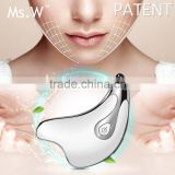 On line hot selling electric portable facial beauty care massager for skin tighening face massage