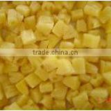 Canned pineapple chunks pineapple pieces in light syrup origin China
