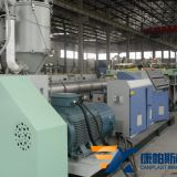 Plastic hollow grid sheet production line,PC center hollow grid sheet production line