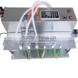 Electric Digital Control 6L Flow Rate 3 Nozzles Spout Bag Filling Machine For Spice Water