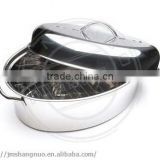 high quality Baking Pan Turkey Roaster with Rack and Lid