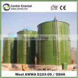 Low cost bolted steel storage tank with best silo price